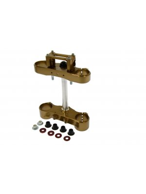 Adj offset triple clamp Sachs 48 4S BRONZE