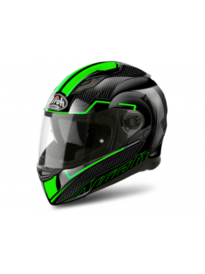 Каска Airoh MOVEMENT S FASTER GREEN GLOSS Helmet