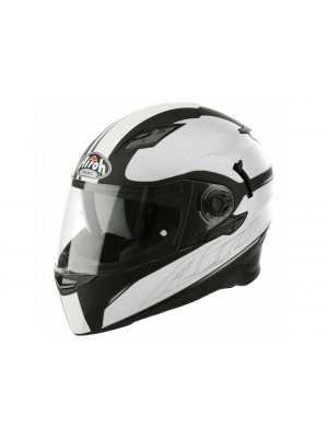 Каска Airoh MOVEMENT WHITE BLACK MATT Helmet
