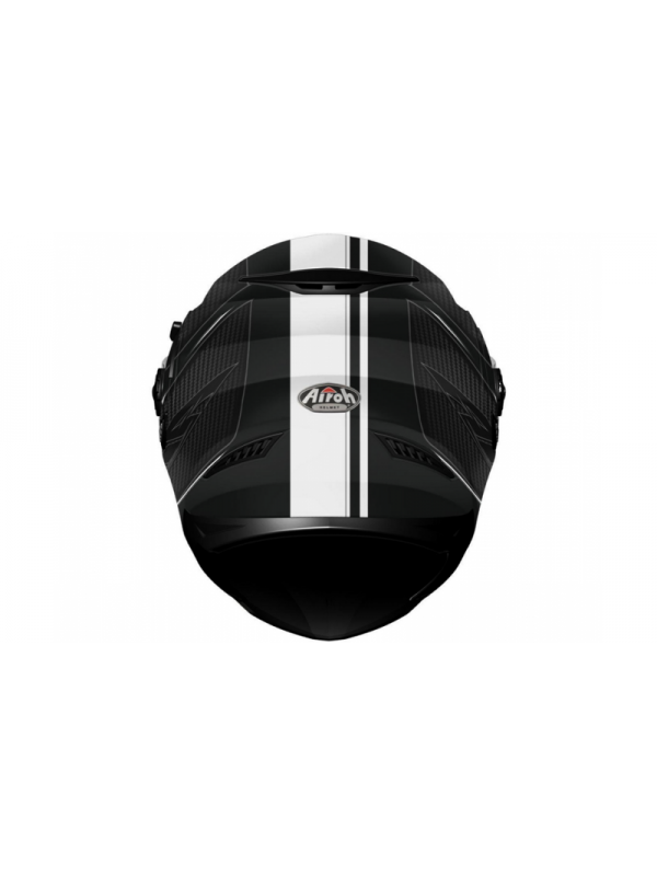 Каска Airoh MOVEMENT BLACK WHITE MATT Helmet
