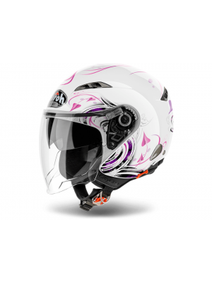 Каска Airoh CITY ONE HEART WHITE GLOSS Helmet