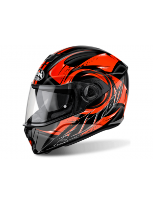 Каска Airoh STORM ANGER ORANGE GLOSS Helmet