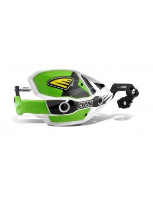 Cycra Ultra Probend CRM Handguard White/Green
