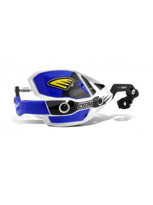Cycra Ultra Probend CRM Handguard White/blue