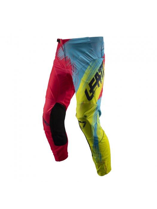 Панталон Leatt GPX 4.5 Pants Red/Lime 2019