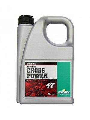 Масло Motorex Cross Power 4T 10W/50 4L