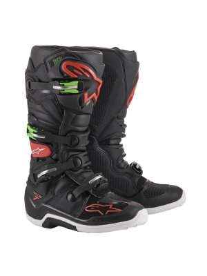БОТУШИ ALPINESTARS TECH 7 BLACK RED GREEN