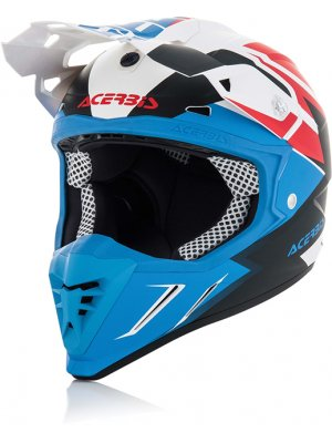 Acerbis Profile 3.0 Snapdragon White/Blue Matte