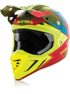 Acerbis Profile 3.0 Snapdragon Green/Yellow Matte