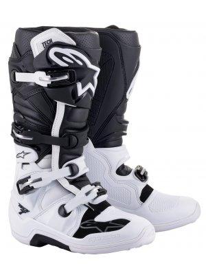 Ботуши ALPINESTARS TECH 7 BLACK WHITE
