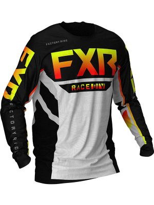 БЛУЗА FXR PODIUM MX BLACK/RED
