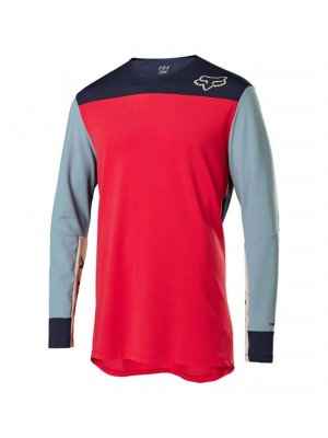 FOX DEFEND DELTA™ LS JERSEY BRIGHT RED