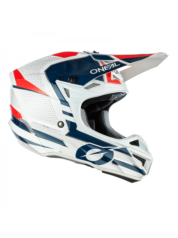 Каска O'NEAL 5SERIES SLEEK WHITE/BLUE/RED