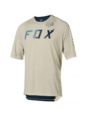 FOX DEFEND SS WURD JERSEY NAVY
