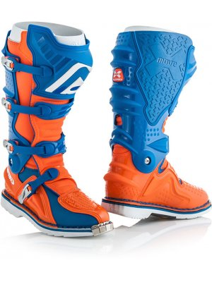 БОТУШИ ACERBIS X-MOVE 2.0 BOOTS BLUE/ORANGE