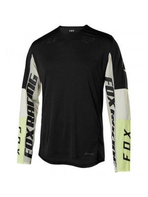 FOX FLEXAIR DELTA™ LS HONR JERSEY BLACK
