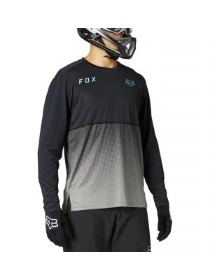 Блуза FOX FLEXAIR LS JERSEY [BLK]