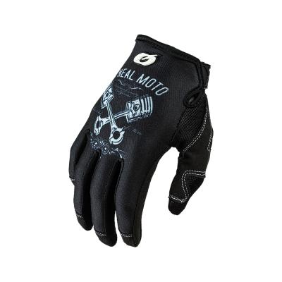 Мотокрос ръкавици O'NEAL MAYHEM PISTONS II BLACK/WHITE