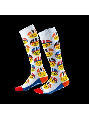 Детски мотокрос чорапи O'NEAL PRO MX EMOJI RACER MULTI 2020