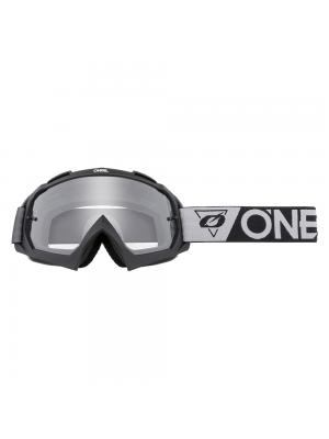 Крос очила O'NEAL B-10 SPEEDMETAL BLACK/GRAY - CLEAR