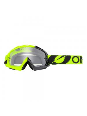 Крос очила O'NEAL B-10 TWOFACE BLACK/NEON YELLOW - CLEAR 2021