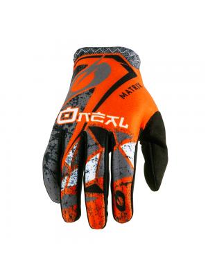 Мотокрос ръкавици O'NEAL MATRIX ZEN ORANGE