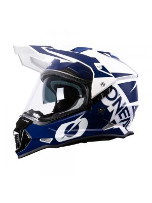 Ендуро каска O'NEAL SIERRA II HELMET R BLUE/WHITE