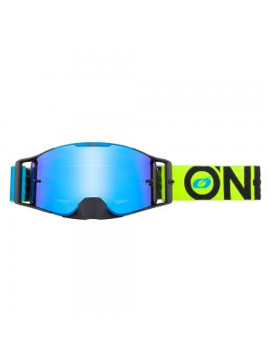 Мотокрос очила O`NEAL B-30 BOLD BLUE/NEON YELLOW - RADIUM BLUE