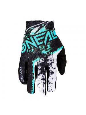 Мотокрос ръкавици O'NEAL MATRIX IMPACT BLACK/TEAL
