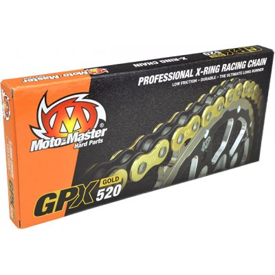 Мотоциклетна верига GPX X-ring Gold, 520/120L