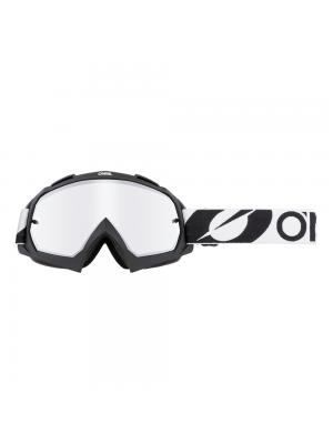 Крос очила O'NEAL B-10 TWOFACE BLACK- MIRROR SILVER 2021