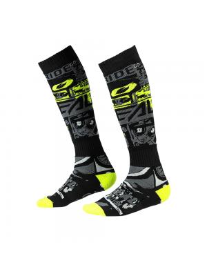 Термо чорапи O'NEAL PRO MX RIDE BLACK/NEON YELLOW