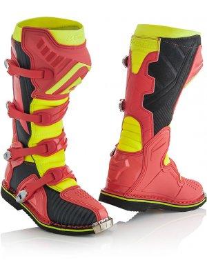 Ботуши X-Pro V. червен/жълт