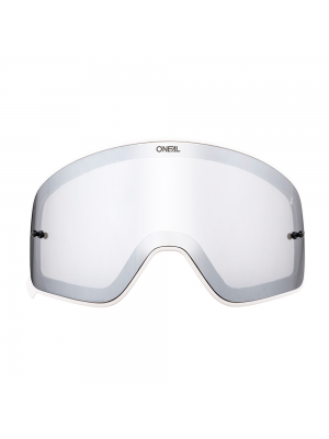 Магнитна плака за очила O'NEAL B-50 BLACK FRAME SILVER/MIRROR