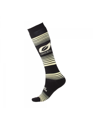 Термо чорапи O'NEAL Pro MX STRIPES BLACK/YELLOW