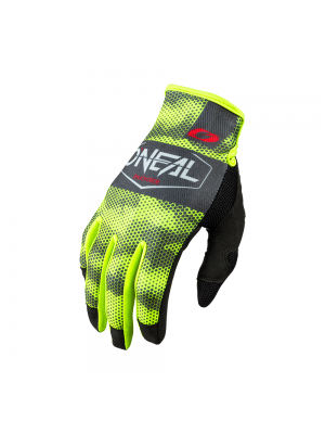Мотокрос ръкавици O'NEAL COVERT CHARCOAL/NEON YELLOW