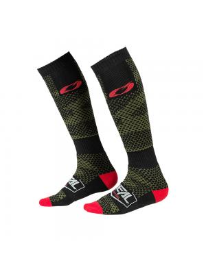 Термо чорапи O'NEAL PRO MX COVERT BLACK/GREEN