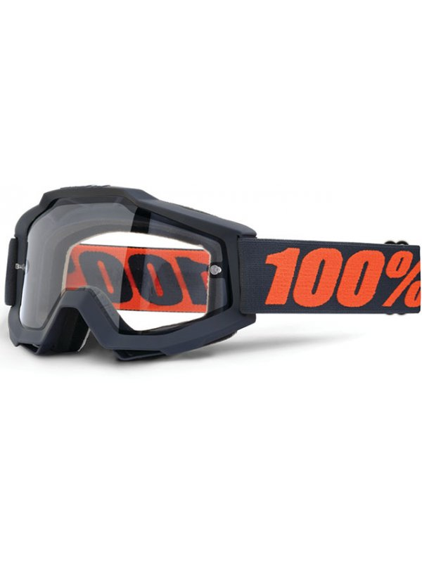 Очила 100% Accuri Gunmetal Двойна плака