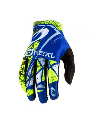Мотокрос ръкавици O'NEAL MATRIX ZEN BLUE