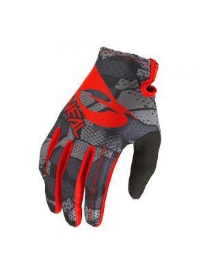 Мотокрос ръкавици O'NEAL MATRIX CAMO V.22-BLACK/RED