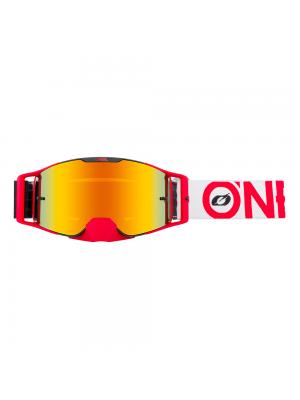 Мотокрос очила O`NEAL B-30 BOLD BLACK/RED - RADIUM