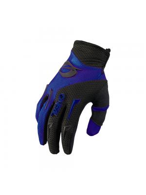 Мотокрос ръкавици O'NEAL ELEMENT BLUE/BLACK 2021