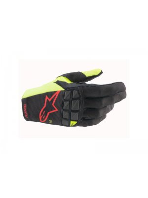 Ръкавици RACEFEND GLOVES BLACK YELLOW FLUO RED FLUO ALPINESTARS
