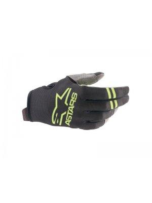 Ръкавици RADAR GLOVES BLACK GREEN FLUO ALPINESTARS