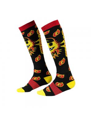 Термо чорапи O'NEAL PRO MX BOOM BLACK/YELLOW