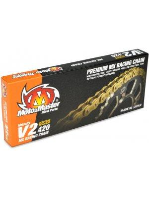 Мотоциклетна верига V2 Gold MX, 420/130L
