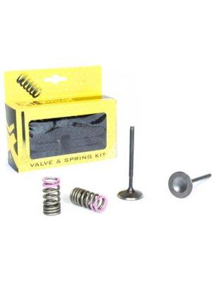 Комплект стоманени изпускателни клапани и пружини Yamaha YZ250F 14-18, WR250F 15-18